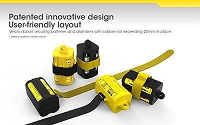 NiteCore nbm40j Ladegerät Multifunktions tragbar Unisex Erwachsene, Gelb