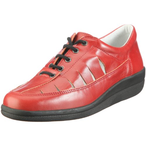 Hans Herrmann Collection Meran 170029-199, Chaussures basses femme Rouge - V.1