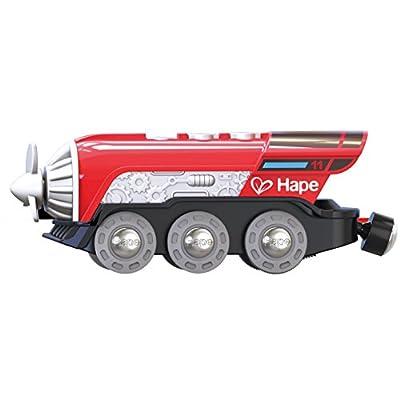 Hape E3750 Kleinkindspielzeug Propeller-Lok von Hape International AG