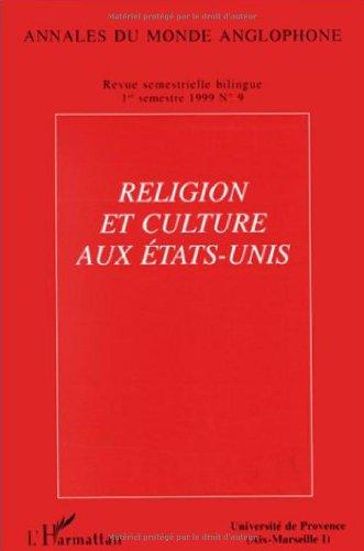 Religion et Culture aux Etats-Unis