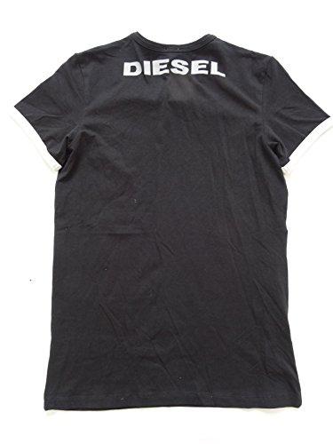 Diesel Jeans Herren umtee-randal T Shirt Black 901