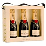 Moet & Chandon Brut Imperial NV Champagne Mini Moet Tri Pack 3x20cl