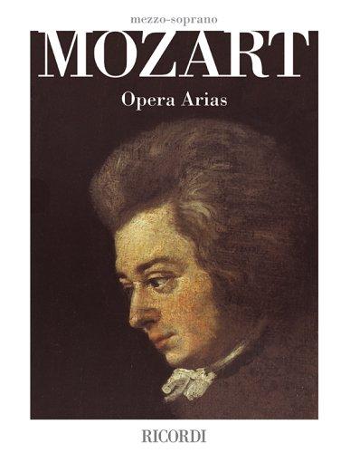 Mozart Opera Arias: Mezzo-Soprano por Wolfgang Amadeus Mozart