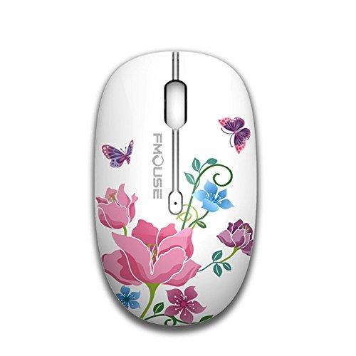 Und Spielen Spiel Führer-handbuch (tenmos M101 Wireless Maus ,PC Kabellose Mouse Cute Silent Schnurlos Optische Travel Mäuse mit USB Receiver für Notebook/Laptop/Computer/MacBook, DPI 1600,3 Tasten)