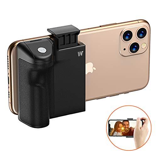 Cocoda Stabilisateur Smartphone, Support Selfie pour Téléphone Adaptateur Trépied Prenez à Une Main avec Télécommande Amovible & Filetage 1/4' pour iPhone, Samsung, Pixel, etc