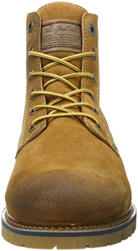 Australian Herren Everest Suede Hohe Sneaker Beige (Tan)