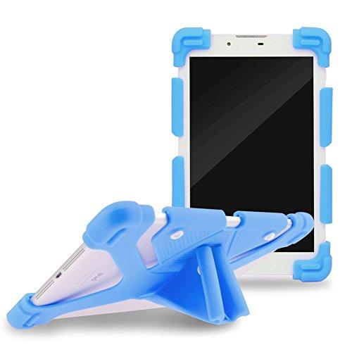 Sindbad Universal 17,8-30,5cm stoßfest Silikon Cover Case Stand für iPad Air, iPad Mini, Kindle, Q8, Samsung Galaxy Tab, Verizon Asus RCA Google Dragon Touch & anderen 17,8-30,5cm Tablets - Gebaut In Den Warenkorb