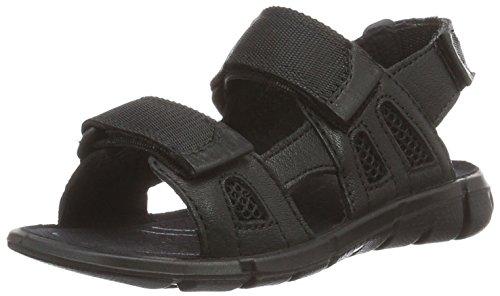 Ecco Unisex-Kinder Intrinsic Sandal, Schwarz (51052BLACK/Black), 36 EU