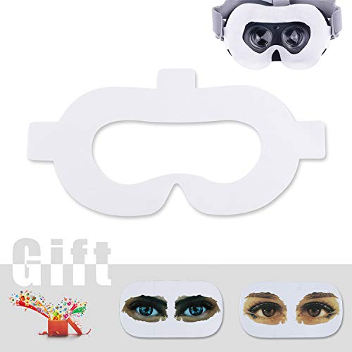 AMVR VR Gesicht Abdeckung Pad Baumwolle Vlies Einweghygiene Maske Schwamm Matte mit Magic Sticks für Oculus Go (50 stücke)