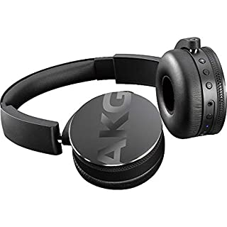 AKG C50BT Portable Folding On-Ear Bluetooth Headphones Black