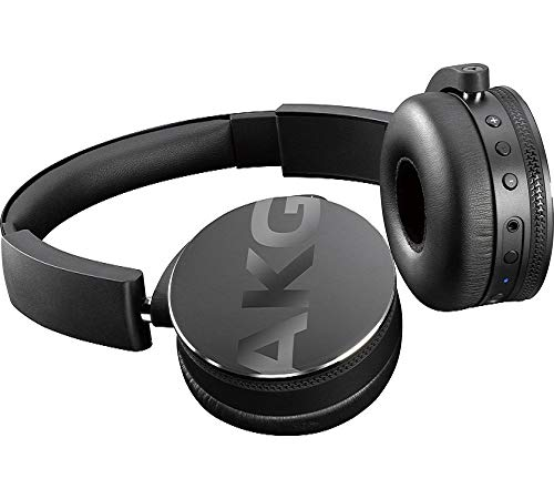 AKG C50BT Casque Bluetooth Portable Pliable Noir