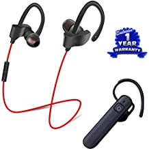Captcha Suitable With Sony XPERIA Z3+ Combo Set Of Lightweight Bluetooth Headsets With Mic (Calling & Music) (1 Year Warranty)