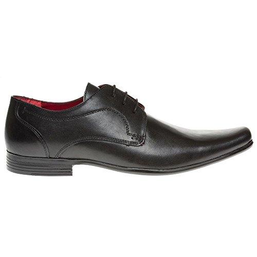 Red Tape Kingston Homme Chaussures Noir Noir