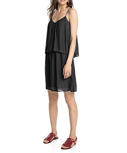Esprit - Robe - Uni - Sans manche - Femme Noir (Black 001)