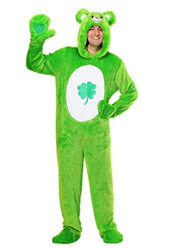 Care Bears Adult Classic Good Luck Bear Fancy dress costume (Bear Luck Good)