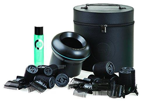 Cloud Nine - TheO Gift Set in schwarzer Box (Wärmestation+Wickler+Spray) - Geschenkset - 1 Set