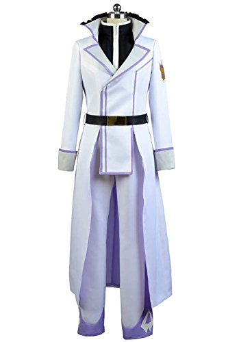 Van Kostüm Weiße - Re:Zero Life in a Different World from Zero Reinhard van Astrea Outfit Cosplay Kostüm Weiß Herren M