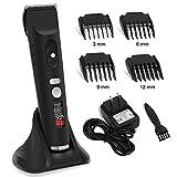2NLF Tondeuse Cheveux Tondeuse Barbe Hommes Professionnelle Electrique avec Ecran LED Sans Fil USB Rechargeable pour Homme Père...