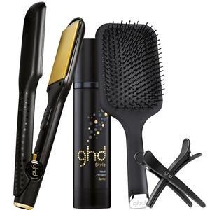 Ghd V Gold Max Styler Kit - Plancha + cepillo + spray