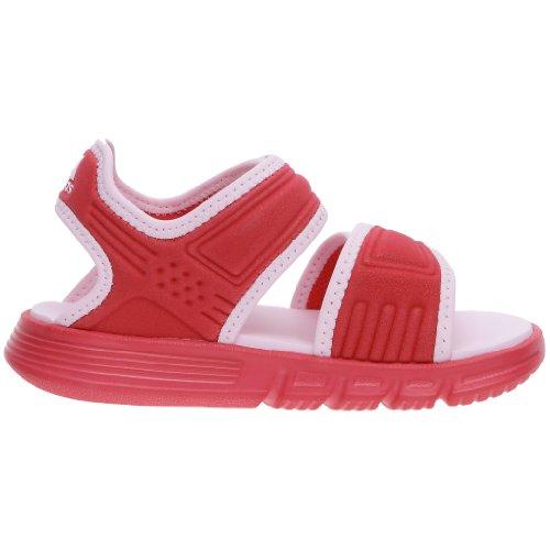 Adidas Akwah 7 K, Scarpe sportive bambini Rosa (Rose/Blanc/Rose clair)