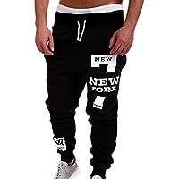 Cebbay Liquidación Pantalones de chándal para Hombres Corbata Respirable Casual y cómoda Pantalones Deportivos