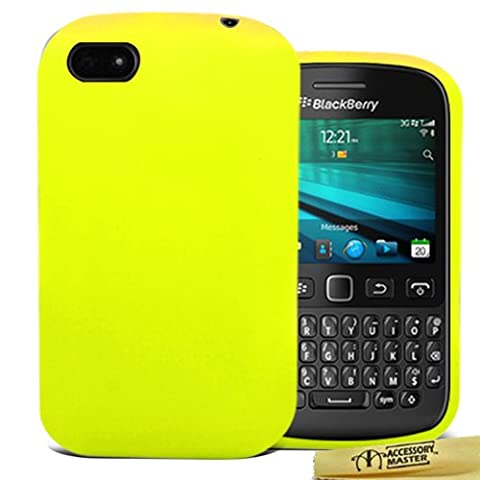 Coque Pour Blackberry 9720 - Accessory Master- Jaune Coque Housse en silicone