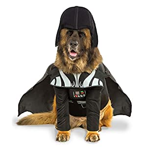 Rubies Officielle Star Wars Darth Vader pour Animal Domestique Chien Costume, Grand Chien