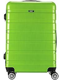 Sunydeal - Maleta de Cabina Equipaje de Mano Rígida ABS+PC, Candado TSA