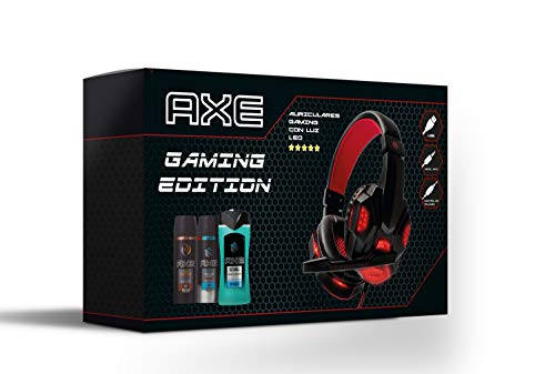 Axe Pack Auriculares Gaming Bodysprays 150 ml Ice