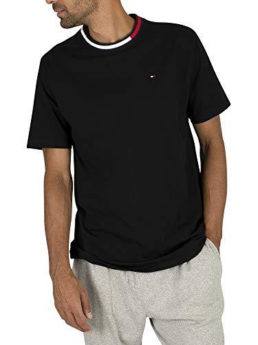Tommy Hilfiger UM0UM01165 SS Tee T-Shirt Herren Black M