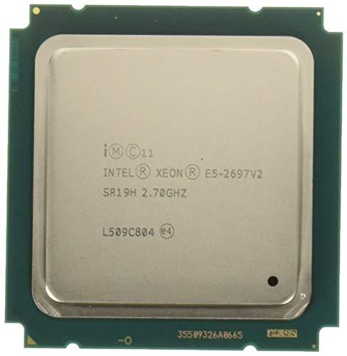 PC Server and Parts Intel Xeon E5-2697 v2 SR19H 2 70GHz 30M 12-Core LGA2011  CPU Processor (Renewed)