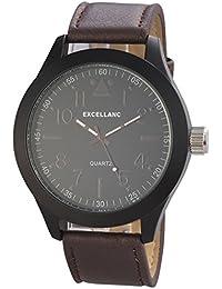 Excellanc Herren-Armbanduhr XL Analog Quarz verschiedene Materialien 295071000171