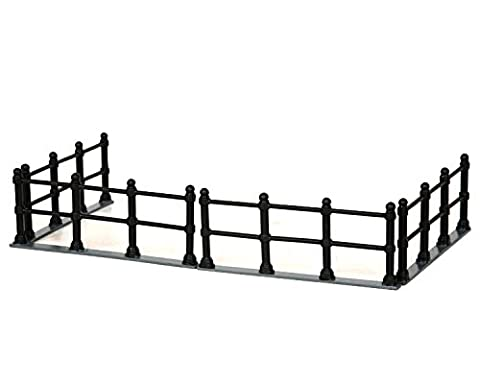 Lemax Village Collection Canal Fence Set of 4 # 44789 by Lemax
