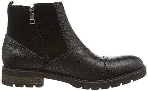 Tommy Hilfiger CURTIS 11A Herren Chelsea Boots Schwarz (BLACK 990)
