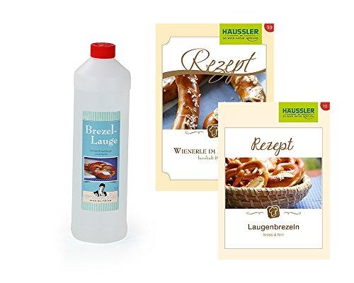 Brezellauge mit Rezept für Laugenbrezeln und Wienerle im Brezelteig!