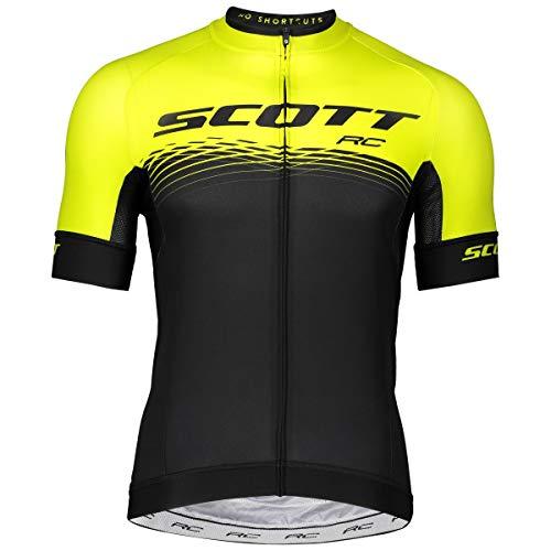 Scott RC Pro Fahrrad Trikot kurz schwarz/gelb 2019: Größe: L (50/52) -