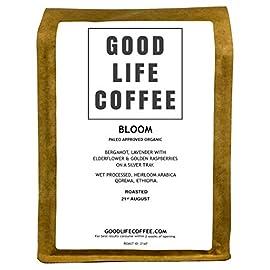 Good Life Bloom Organic Coffee 250g Ground Cafetiere Single Origin Specialty Arabica Great Taste Winner Bulletproof Paleo Coffee Beans Roasted to Order Great Taste Winner