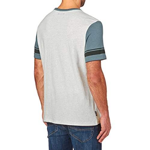 Animal T-shirts - Animal Hoops T-Shirt - Light Grey Marl Grey