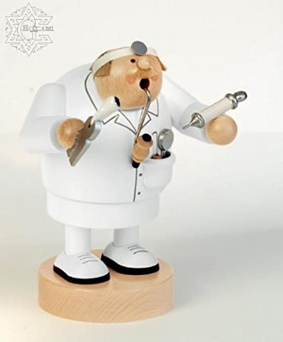 KWO Dentist German Incense Christmas Smoker