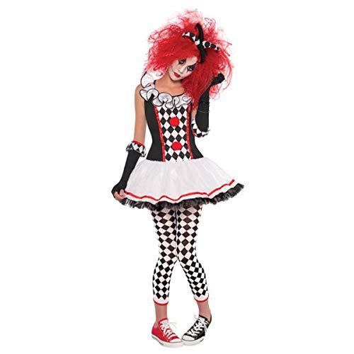 Christys London Disfraz de Arlequín para Mujer en Varias Tallas para Halloween