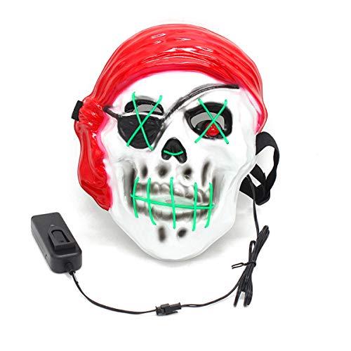 Baby Bane Maske - Halloween Maske LED Leuchtmaske für Festival
