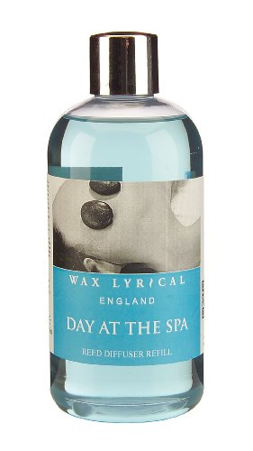 Wax Lyrical 250 ml Reed Diffuser Refill, Day at the Spa - Wax Refill