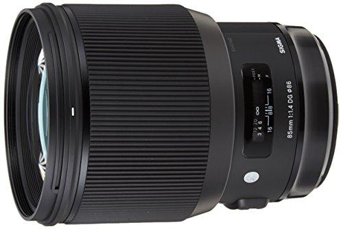 Sigma 85mm F1,4 DG HSM Art Objektiv (86mm Filtergewinde) für Canon Objektivbajonett
