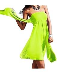 Mode Strandkleid bandeaukleider Seaside Holidaykleider Sun-Hemd Bikini Cover Up