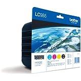 Brother LC985 - Pack de 4 cartuchos de tinta 1x 300 lados, 3x 260 lados, multicolor