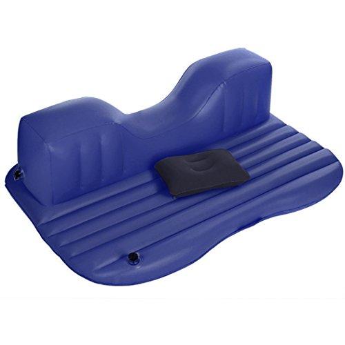 Ancheer Luftbett Premium Queen-Size mit eingebauter Pumpe,Autoselbstfahrer im Freien Reise Luftmatratze Rest Kissen aufblasbares Bett mit eingebauter Pumpe,140X90X45CM