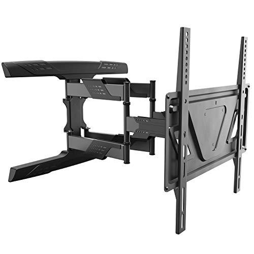 RICOO Soporte TV Pared Inclinable y Giratorio S9544 para Pantallas de 32-70 Pulgadas Aprox. 81cm-178cm...