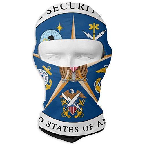 Wfispiy Zentrale Sicherheitsdienst Insignia Sport Staub Gesichtsmaske Männer Frauen Bandana Stirnband Balaclava