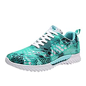 EUZeo Unisex Paar Mesh atmungsaktive Low-Top Sneakers Schuhe Leichte rutschfeste Laufschuhe Outdoor Running Turnschuhe Sommerschuhe Freizeitschuhe
