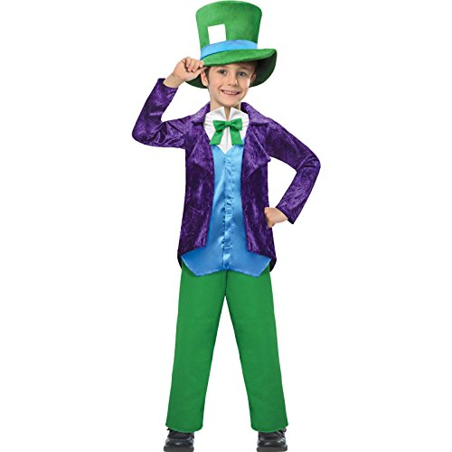 Top Hatter Costume 5-6 years ()